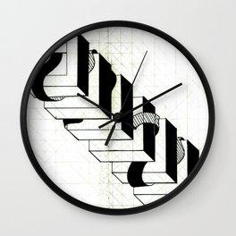 ribbon tower Wall Clock