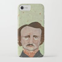 poe iPhone & iPod Cases featuring Poe. by Arrolynn
