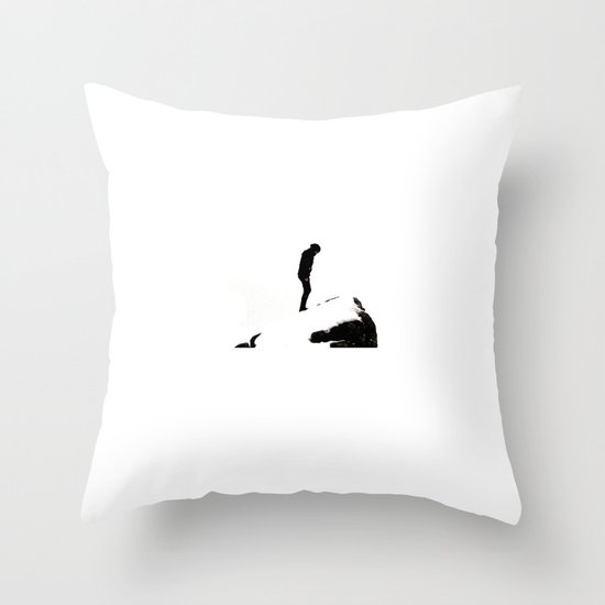 snowblind II. Throw Pillow