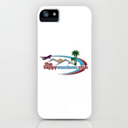 The Happy Wanderer Club iPhone Case