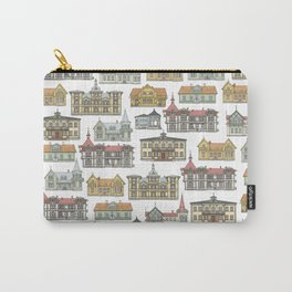 Wooden houses of Hjo Carry-All Pouch