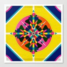 Compass, Palette 1 Canvas Print