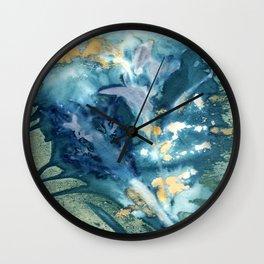 Hidden Waterfall Wall Clock