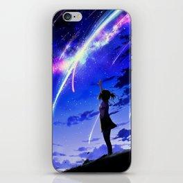 """Kimi No Na Wa """"Your Name"""" v1 iPhone Skin"""