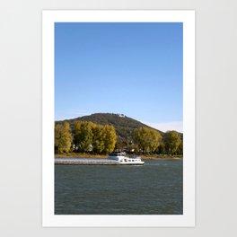 River Rhein Art Print