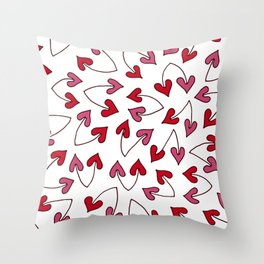 Lovely Heartic Cherry Throw Pillow