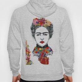 Frida Kahlo Heart Hoody