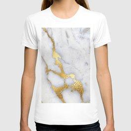 Italian gold marble II T-shirt
