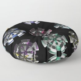 3D Mystery - Space Invasion Floor Pillow