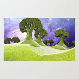 Broccoli Planet / / #fractal #fractals #3d Rug
