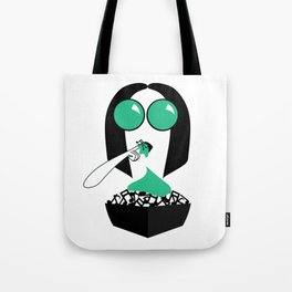 Music Devourer Tote Bag