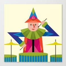 drummer Canvas Print