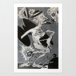 Hobo Wizard: Transcendence, Hobo Wizard series. Art Print