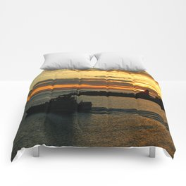 The End Of A Beautiful Day Comforters