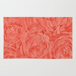 Coming Up Red Roses Rug
