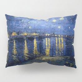 Vincent van Gogh's Starry Night Over the Rhone Pillow Sham