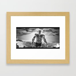 72 Precent Water Framed Art Print