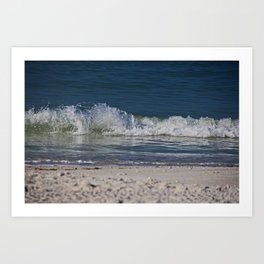 Dancing Tides Art Print