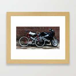 two by two Framed Art Print