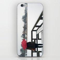 Copenhagen - Red Umbrella iPhone & iPod Skin
