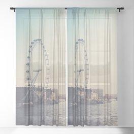 looking back ...  Sheer Curtain