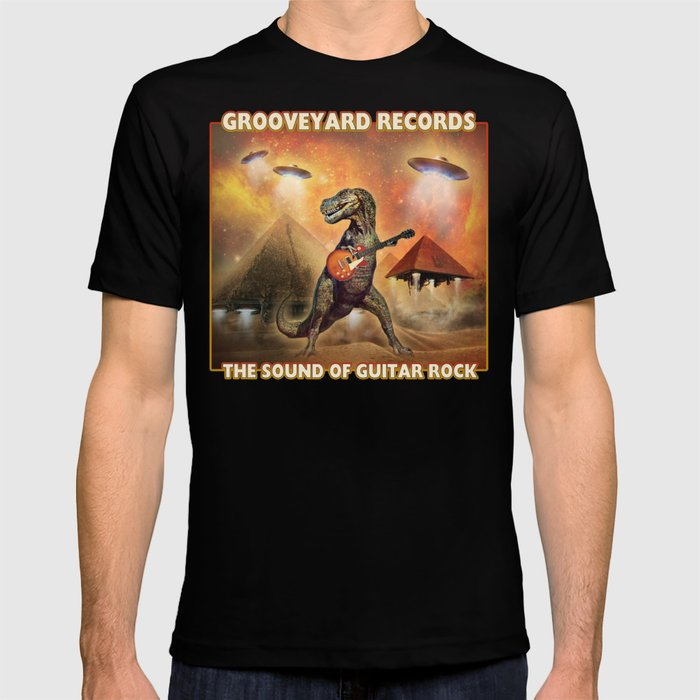 Grooveyard Records - The Sound Of Guitar Rock T-shirt