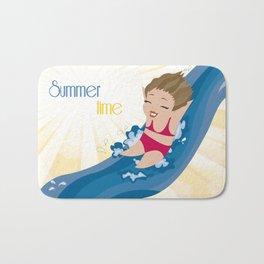 Summer Time Bath Mat
