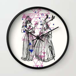 Ladies of the wood Wall Clock