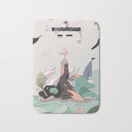 Windy Island Bath Mat