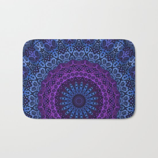 Twilight Mandala Bath Mat
