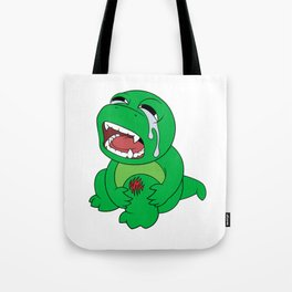 Little Dinosaur, Big Feelings (Ouch) Tote Bag