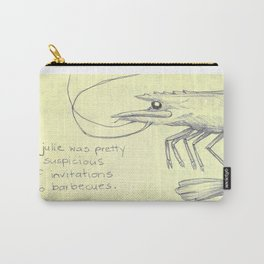 Prawn Barbecue Carry-All Pouch