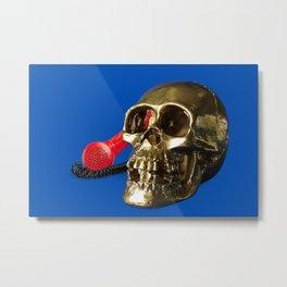 DEATH CALLS Metal Print