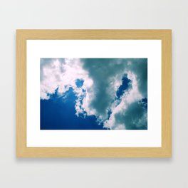 Parting Of The Skys Framed Art Print