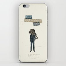 The elephant man iPhone & iPod Skin