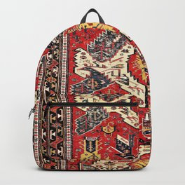 Dragon Sumakh Antique East Caucasus Kuba Rug Print Backpack