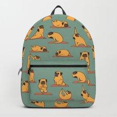 Pug Yoga Backpacks