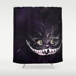 Madness in Purple Shower Curtain