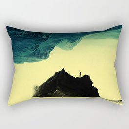 Triple Isolation in Green Rectangular Pillow