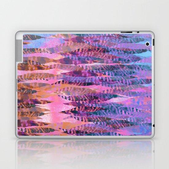 Tie Dye Feathers Laptop & iPad Skin