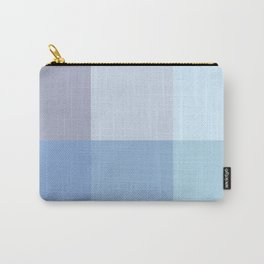 BLOCKS - BLUE TONES - 1 Carry-All Pouch