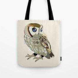 Blind Owl Tote Bag