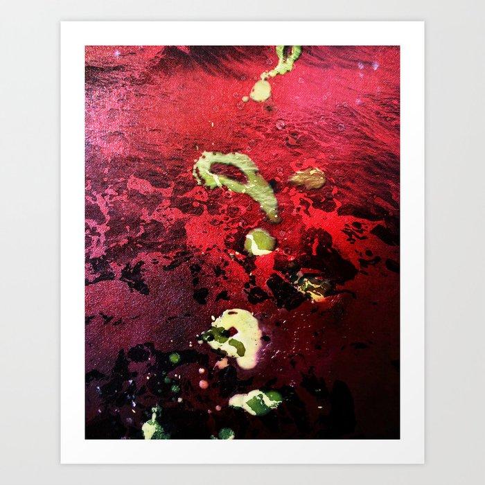 Affliction Art Print