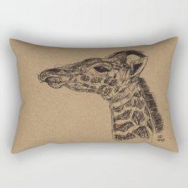 Geraldine Giraffe Rectangular Pillow