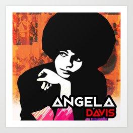 Davis Angela Art Print