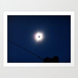 Total Eclipsy Eclipse 1 - 2017 Art Print