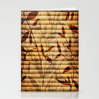 bamboo Stationery Cards featuring Bamboo by Robin Curtiss