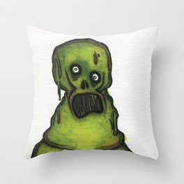 Sewer Dweller Throw Pillow