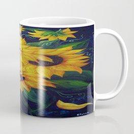 Dancing Sunflowers Coffee Mug
