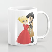 ouat Mugs featuring OUAT - Captain Swan Formal by Choco-Minto